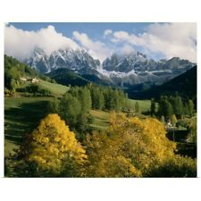 Poster Print Wall Art entitled The Dolomites South Tirol Italy