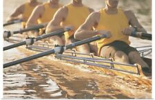Poster Print Wall Art entitled Crew team rowing a scull