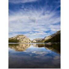 Poster Print Wall Art entitled Lake Tenaya, in Yosemite National Park off of