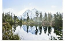 Poster Print Wall Art entitled Mount Shuksan, North Cascades National Park