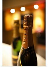 Poster Print Wall Art entitled France, Marne, Moet and Chandon Champagne Winery,