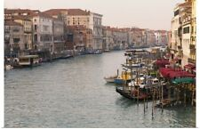 Poster Print Wall Art entitled View of Grand Canal from Rialto Bridge, Venice,