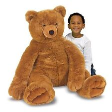 Melissa & Doug Melissa and Doug Jumbo Brown Teddy Bear