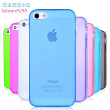 Luxury Ultra-thin TPU Soft Silicone Rubber Back Case Skin Cover For Apple iPhone