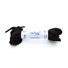 75 cm Long Brown Laces Synthetic Strong Shoe Laces Round Shoelaces Bootlaces 39