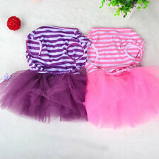 New Small Dog Clothes Nice Pet Dog Puppy Tutu Dress Lace Skirt Cat Sweet Apparel