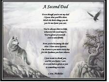 Dad Father Personalized Poem Gift For Fathers Day Birthday Real Dad