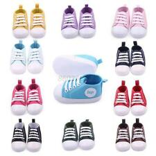 Infant Toddler Sneakers Baby Boys Girls Soft Sole Crib Shoes to 0-18Months G39