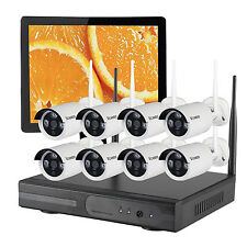 Outdoor Wireless Security Camera System with Hard Drive