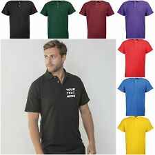 NEW WORKWEAR RTY PERSONALISED CUSTOM PRINTED COMPANY POLO SHIRTS SIZE 3XL - 5XL