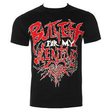 Official T Shirt BULLET FOR MY VALENTINE Black DOOM Print Band Tee All Sizes