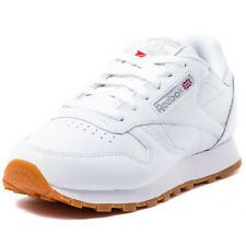 Reebok Classic Leather Womens Leather White Gum Trainers