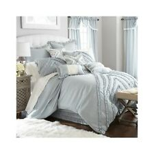 Bedroom Comforter Set 24 Piece Bed In A Bag Ruffled Pillows Sheets Curtains Teen