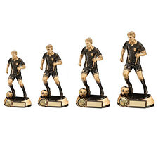 Football Trophies Resin Football Male Figure Trophy Award 4 Sizes FREE Engraving