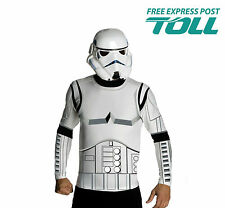STAR WARS STORMTROOPER SHIRT & MASK Men's Costume