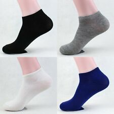 1 Pairs Chic Sweet Ankle/Quarter Crew Mens Cotton Sport Socks Low Cut One Size