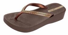 Ipanema Bella Womens Flip Flops / Sandals - Brown Gold - 81256 See Sizes