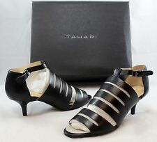 TAHARI Women's Dainty High Heel Sandal - Black - Multi Sz NIB - MSRP $98