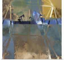Poster Print Wall Art entitled Oil Rig Abstraction I