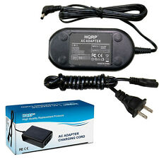 AC Power Adapter Charger for Canon VIXIA HF FV HG HV Series Digital Camcorder