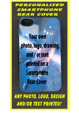 PERSONALISED Custom Printed REAR COVER CASE - iPHONE 6 plus 5 5C 4 any photo etc