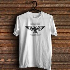 warhammer eagle black T-shirt tee Size S to 3XL