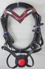 Bakersfield Ca Genuine Buffalo Leather Mexican Grackle Bridle With Reins Unisex