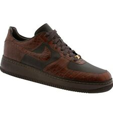 315583-221 $2000 Nike Air Force 1 07 Low Lux Masterpiece Crocodile made in Italy