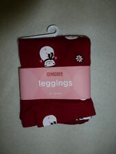Gymboree ALPINE SWEETIE Red Snowman Leggings Pants NWT Winter Christmas Holiday
