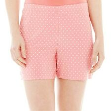 Ambrielle Easy Knit Sleep Shorts Size M, XL, XXL Tropical Rose New Msrp $22