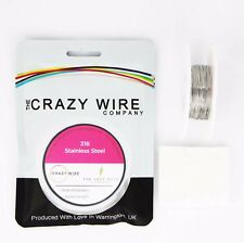 0.615mm (22 AWG) - 316 Marine Grade Stainless Steel Wire - Various Spools