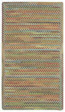 Capel Rugs Kill Devil Hill Wool Cross Sewn Braided Country Rug Dusty Multi #910