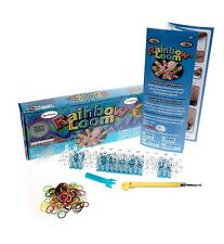 Rainbow Loom Bundle:Starter Kit, Hair Loom, C-Clips, Finger Loom,5x Refill Bands