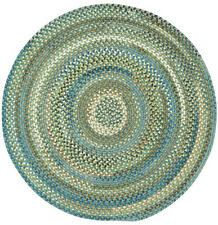 Capel Rugs Kill Devil Hill Wool Country Braided Area Round Rug Dark Green #280