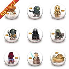 Star war pins button badges,30MM,Round Brooch Badges fashion gift New pack