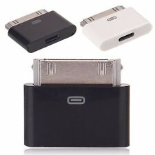 Lightning 8 Pin Female To 30 Pin Male Adapter For iPad 2 3 iPod Touch iPhone 4S