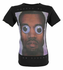 SALE £9 // Graphic Mens Cuckoos Nest Yeezy Black Cotton Top T-Shirt in Large