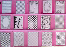 Crafts-Too A4 Embossing Folder General & Christmas * FREE POSTAGE ON 2ND ITEMS*