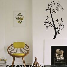 BIRD Wall Stickers love birds of paridise floral tree decal vinyl home sticker