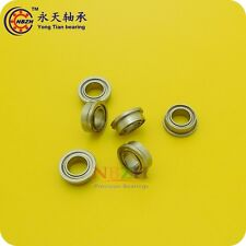 Flanged ball bearings F6001ZZ F6001-2RS 12*28*30*8*2 mm