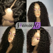 7A Grade human hair small natural curly wig full/front lace wig baby hairs