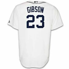 Kirk Gibson Detroit Tigers Home Replica Jersey by Majestic