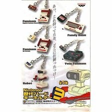 New Licensed Banpresto Genuine Official Nintendo History Famicom Keychain NES