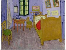 Poster Print Wall Art entitled Van Goghs Bedroom at Arles, 1889 (oil on canvas)