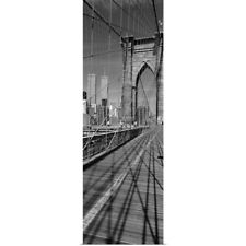 Poster Print Wall Art entitled Brooklyn Bridge Manhattan New York City NY