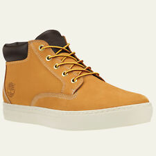 Timberland Men's Dauset Cup Chukka Wheat Nubuck Leather Shoes Style A12FF