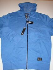O'Neill Zipper Zip Jacket Top Shirt Hoodie Hooded Blue XL NEW