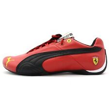 NIB MENS PUMA FUTURE CAT LEATHER SF 10 RED BLACK SCUDERIA FERRARI SNEAKER SHOES