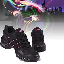 Cool Fashion Women's Sneakers Lace Up Modern Jazz Hip Hop Dance Shoes Breathable