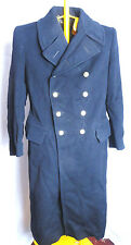 WW2 Royal Navy Officers Overcoat Greatcoat Naval Uniform Jacket Tunic